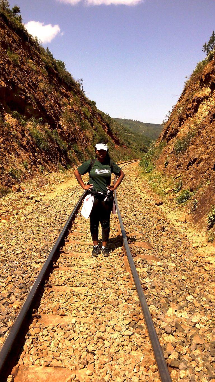 Outdoor activities in Kenya.