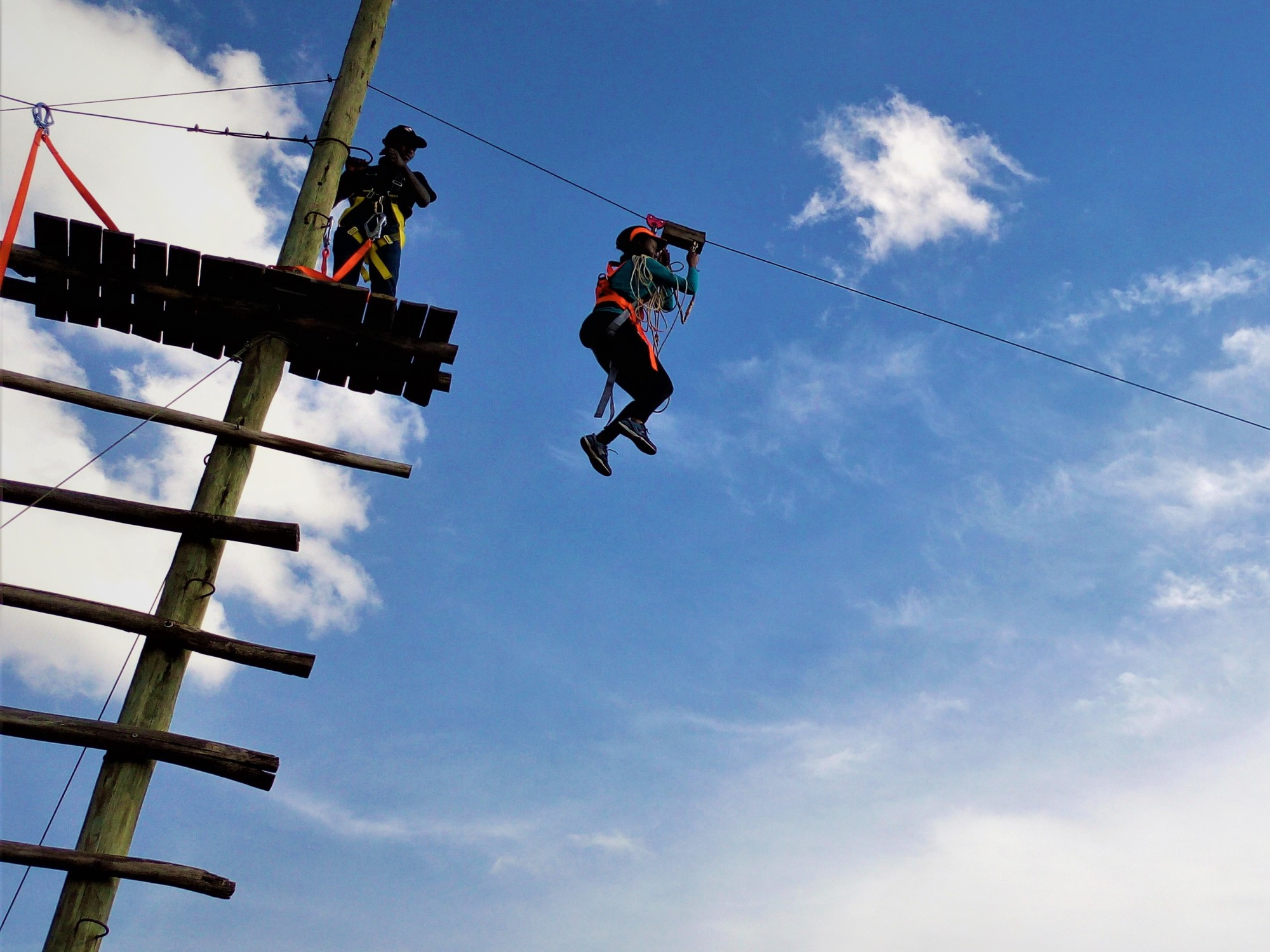 ZIP LINING AND ROPE CHALLENGES; KISAMES (NAIROBI) – akenyannomad