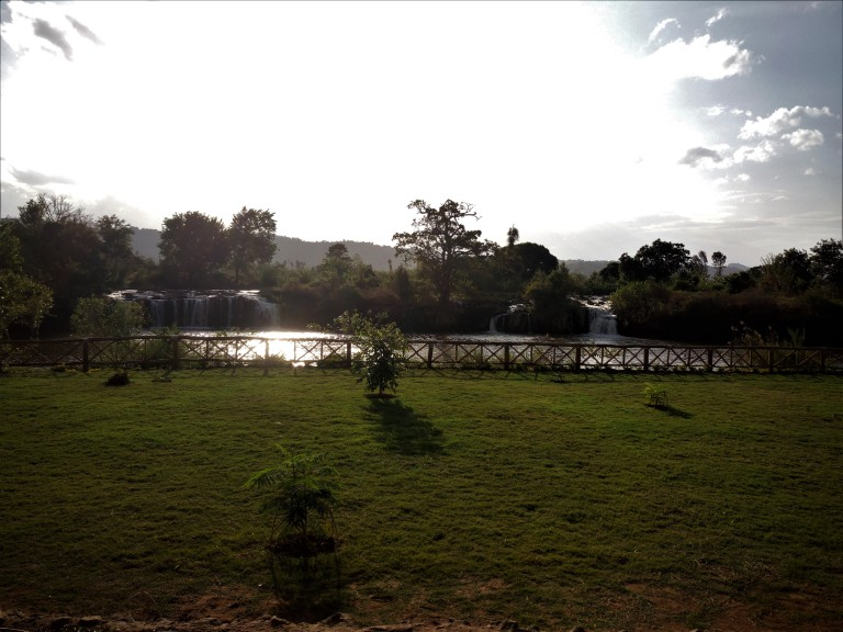 Campsite in Kenya