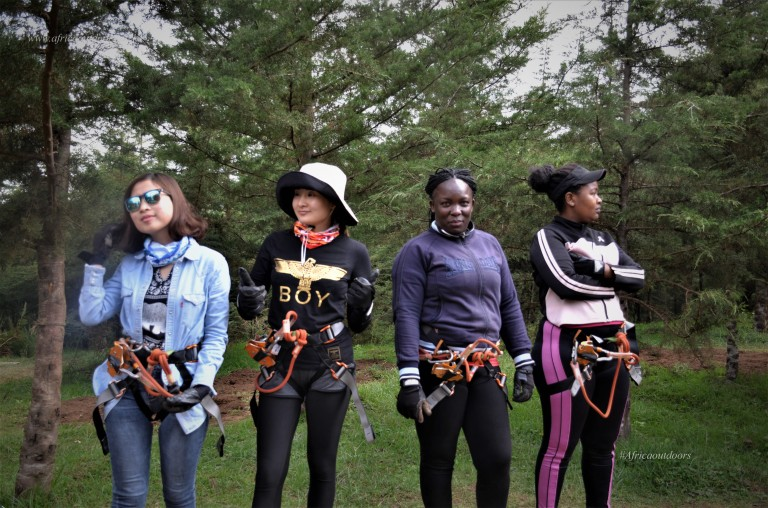 Outdoor activities in Kenya