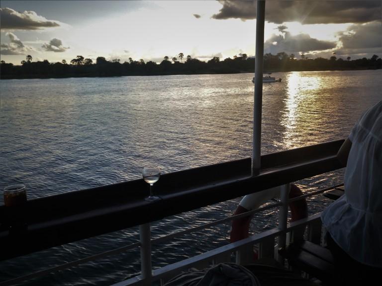 River Zambezi sunset cruise