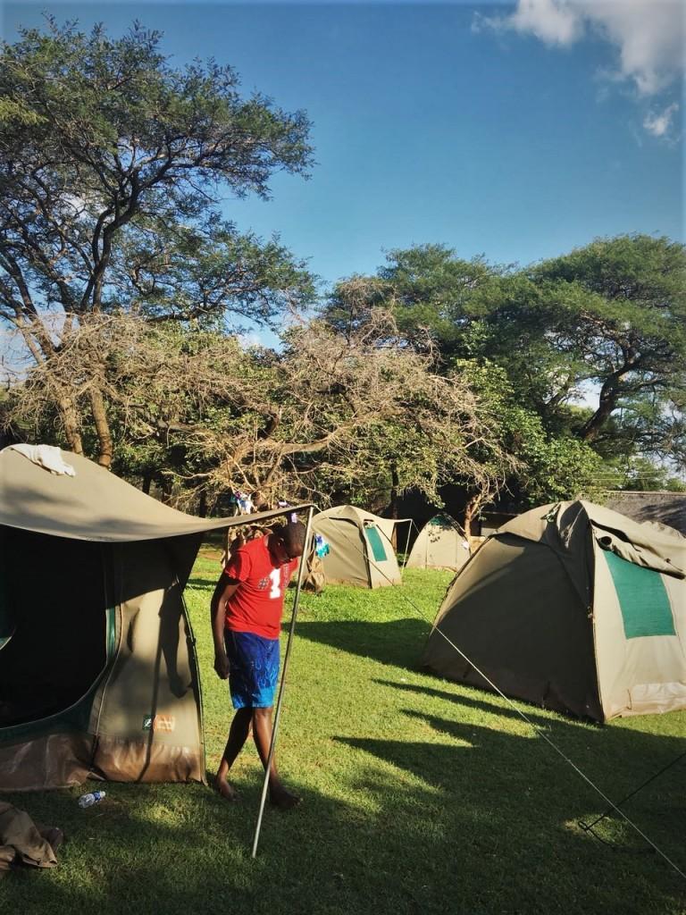 Eureka Camping park, Lusaka