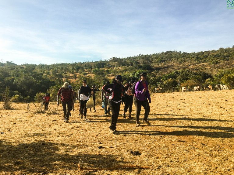 Hiking in Kenya