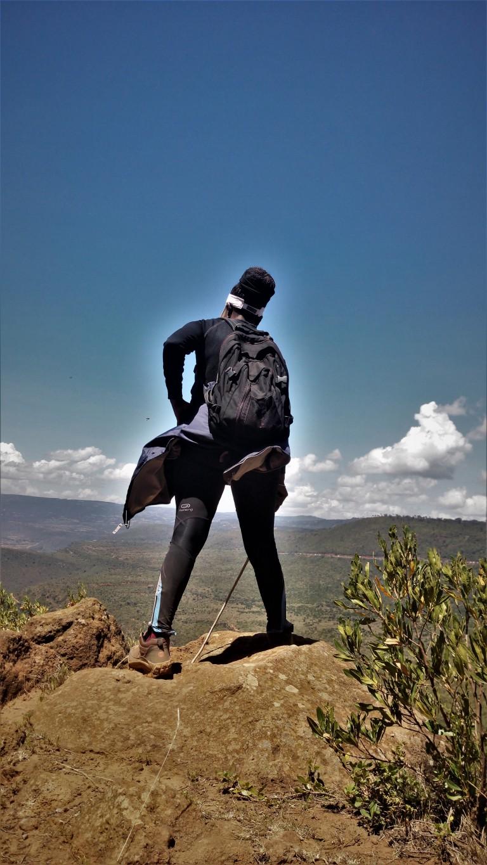 Hiking in Kenya