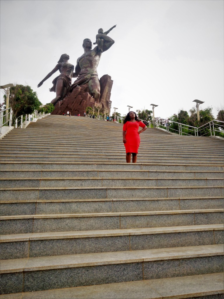 Monument of african renaissance