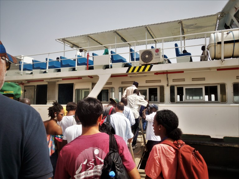 How to get to Goree island